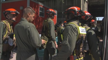 Chicago Rescue Team Trains for Emergencies