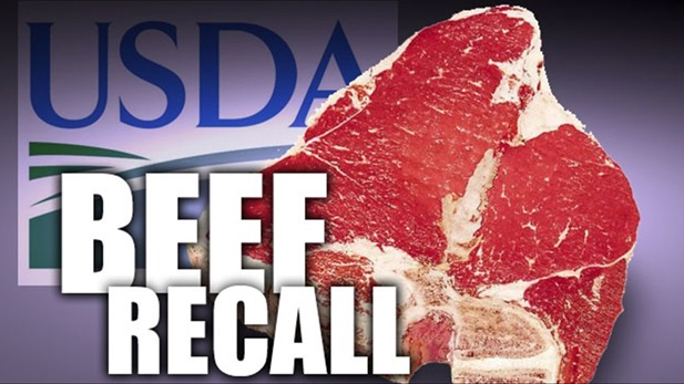 Texas meat production company recalls nearly 4 tons of beef