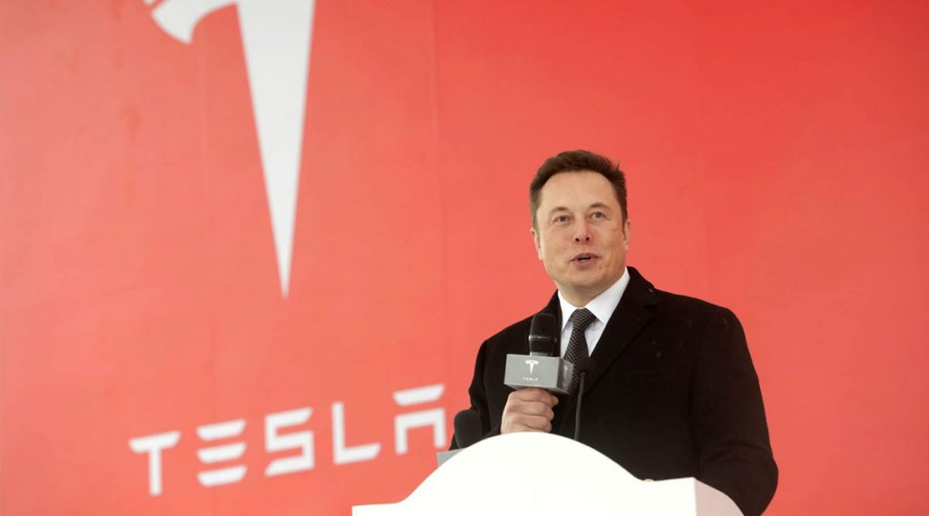 Tesla expands its operations globally as the ground breaking outside U.S. occurs for the first time