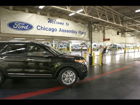Ford is increasing jobs in Chicago based factories by investing <img width=