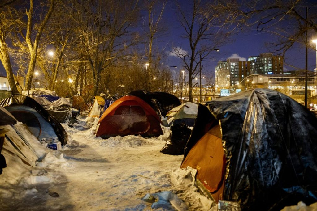 Woman efforts to arrange hotel rooms for Chicago homeless during extreme weather