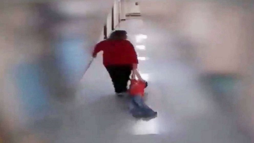 A teacher is under fire after a video emerges of her mistreating a special child (Video)