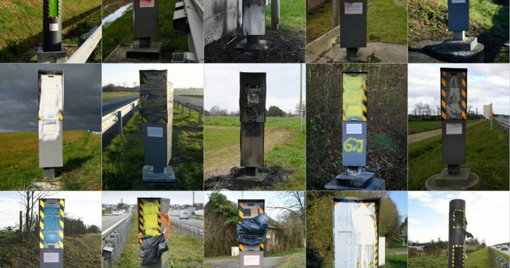 60% of the speed cameras of France have been broken by the Yellow Vests