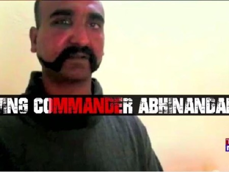 Indian pilot, Abhinandan, captured by Pakistan