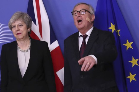 May has no breakthrough after constructive Brexit talks in Brussels