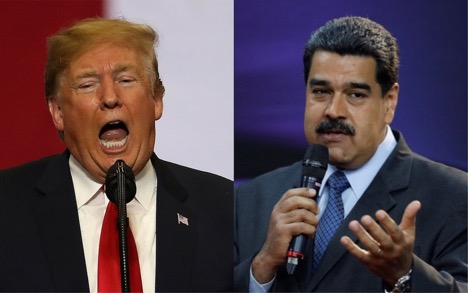 Venezuela's President accuses US for creating crisis in his country