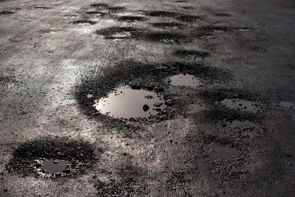 Illinois Natives are complaining of the Potholes