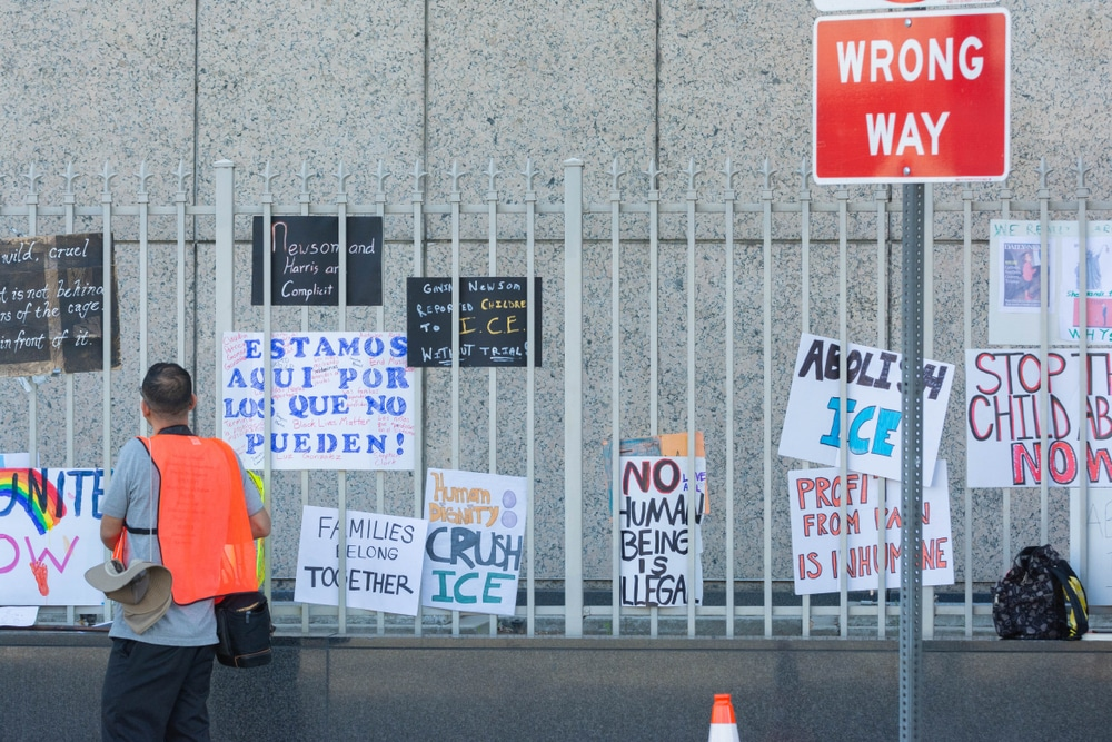 Immigration Detention Centers nearly empty despite the claims of the President