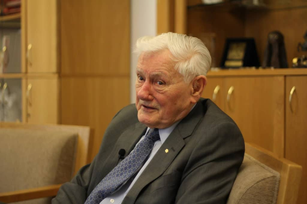 Former Lithuanian President Valdas Adamkus: Since that moment when you take the oath, your private life is eliminated forever