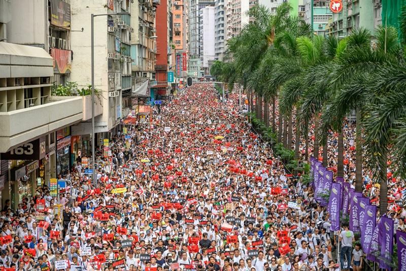 Mass Protests in Hong Kong