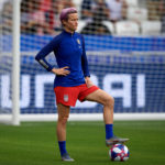US Women Football Team celebrates victory in New York