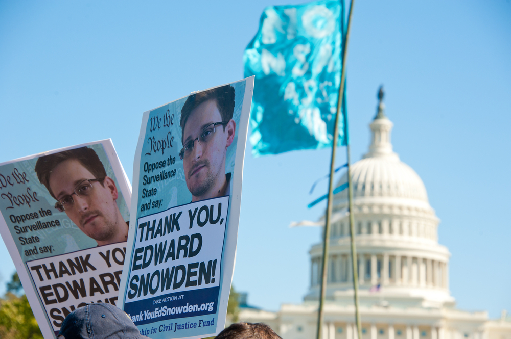 Civil lawsuit filed against Edward Snowden