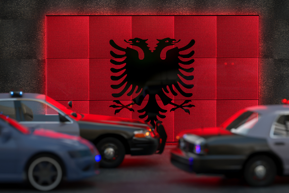 Iranian paramilitary network is present in Albania, Albanian Police