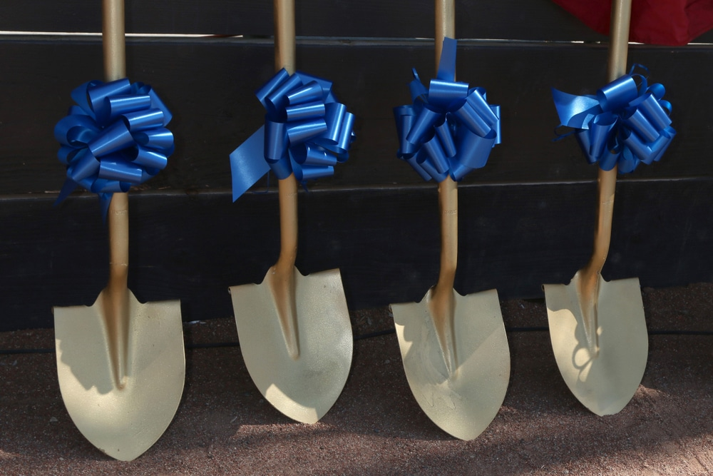 Groundbreaking ceremony for 19-story mixed use building