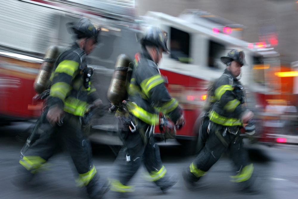 Firefighters extinguish attic fire in condominium building in Palatine