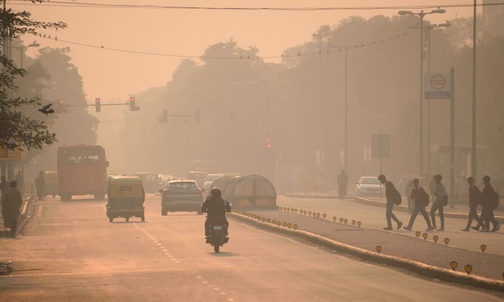Air pollution makes Indian Capital New Delhi a 'Gas Chamber'