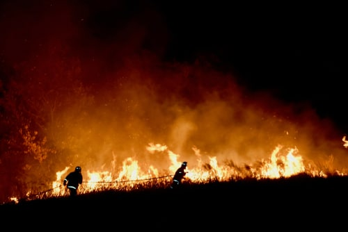 US firefighters goes to Australia to tackle bushfire