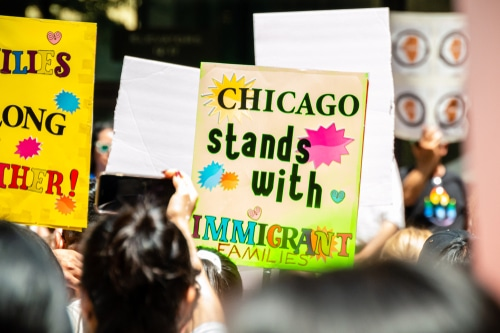 """Lightfoot says Chicago is still """"Welcoming City"""" for refugees"""