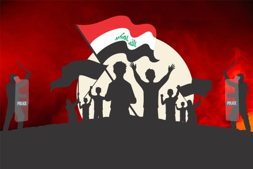 Intensity of protests increases in Iraq, 3 people die