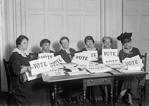 League of Women Voters celebrate 100th anniversary of its foundation
