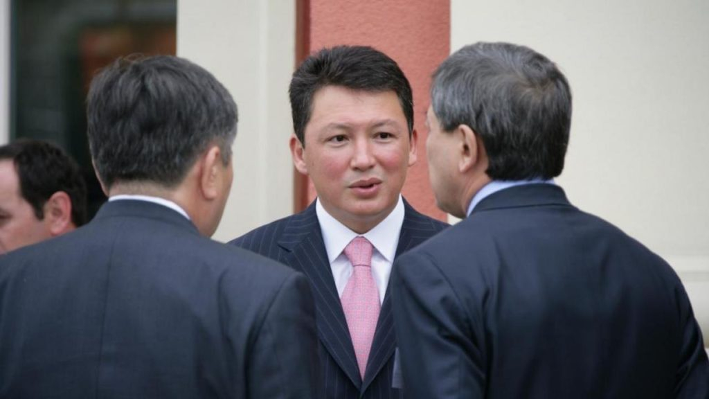 Timur Kulibayev got multi-million payments from an oil investment company worth a baseball bat