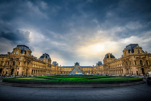 Famous Louvre Museum in Paris closed due to coronavirus threats