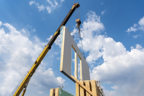 Chicago Cityscape reports new construction permit for modular single-family home project