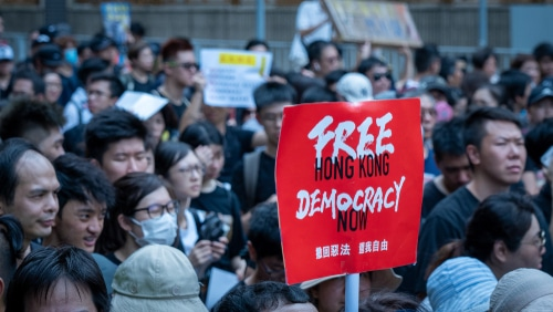 Political crisis in Hong Kong, 300 protesters against China arrested