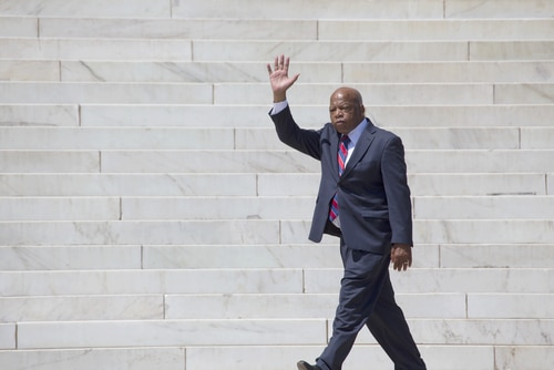 US Rep. John Lewis dies at the age of 80