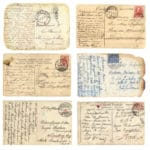 Belding, Michigan, woman says she received postcard stamped 100 years ago