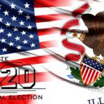 Illinoisans cast votes in massive numbers, Biden wins