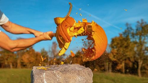 Naperville Park District's 2020 Pumpkin Smash has Record Turnout