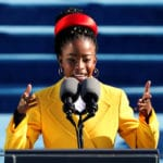 Poet Amanda Gorman performs at presidential inauguration