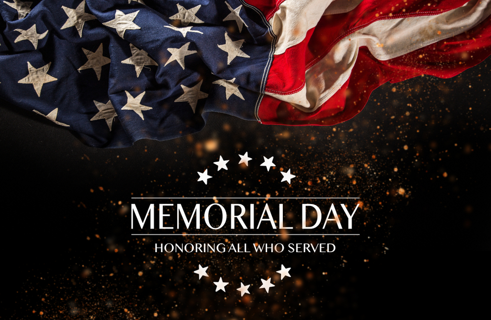 Facilities Closed for Memorial Day