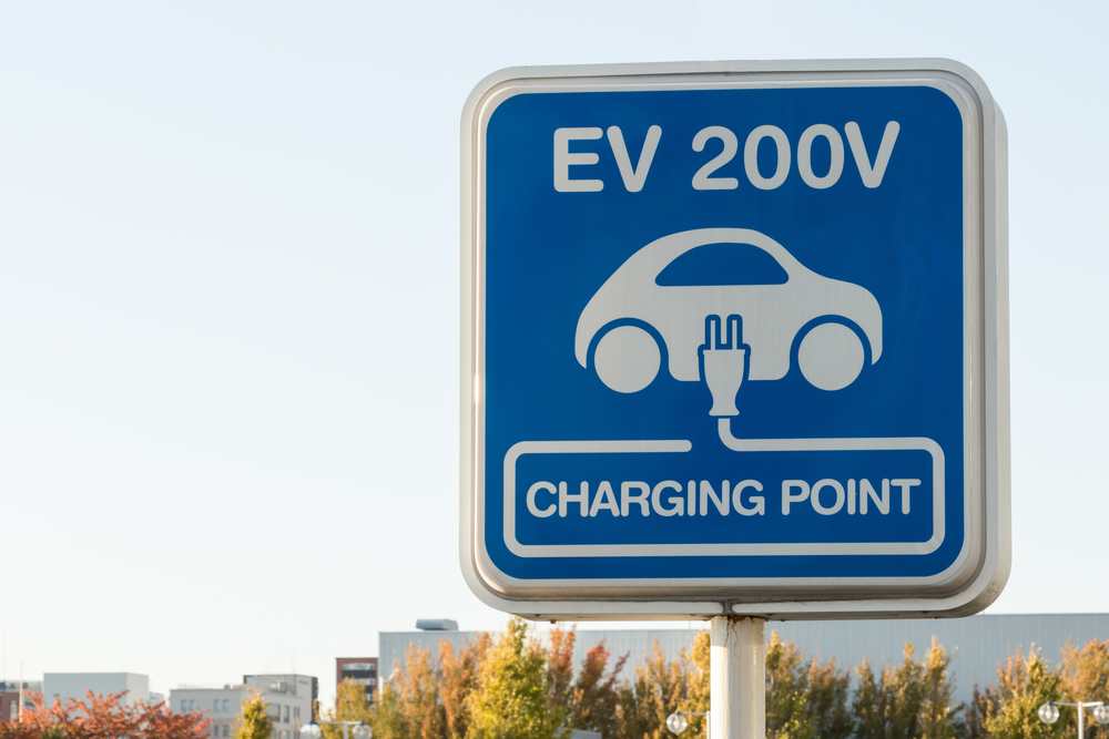 Seeing blue: New EV charging station signs to appear soon along Illinois interstates