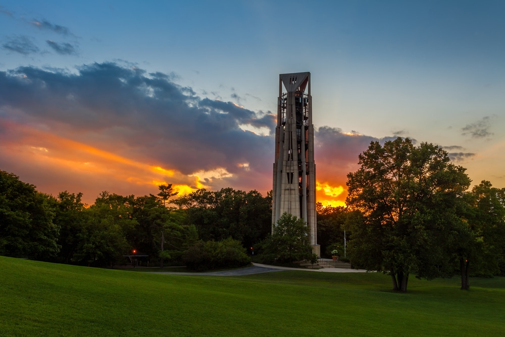 Naperville Millennium Carillon and Visitor Center Closed for Construction
