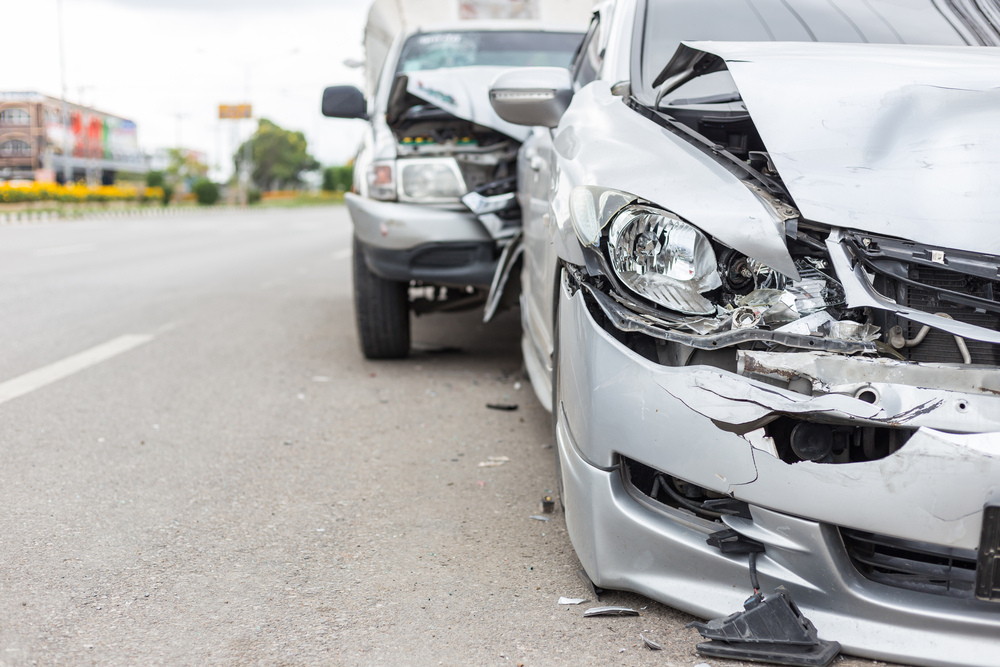 Eight Vehicle Crash with Injuries on Milwaukee Ave North of Deerfield Pkwy, Lincolnshire